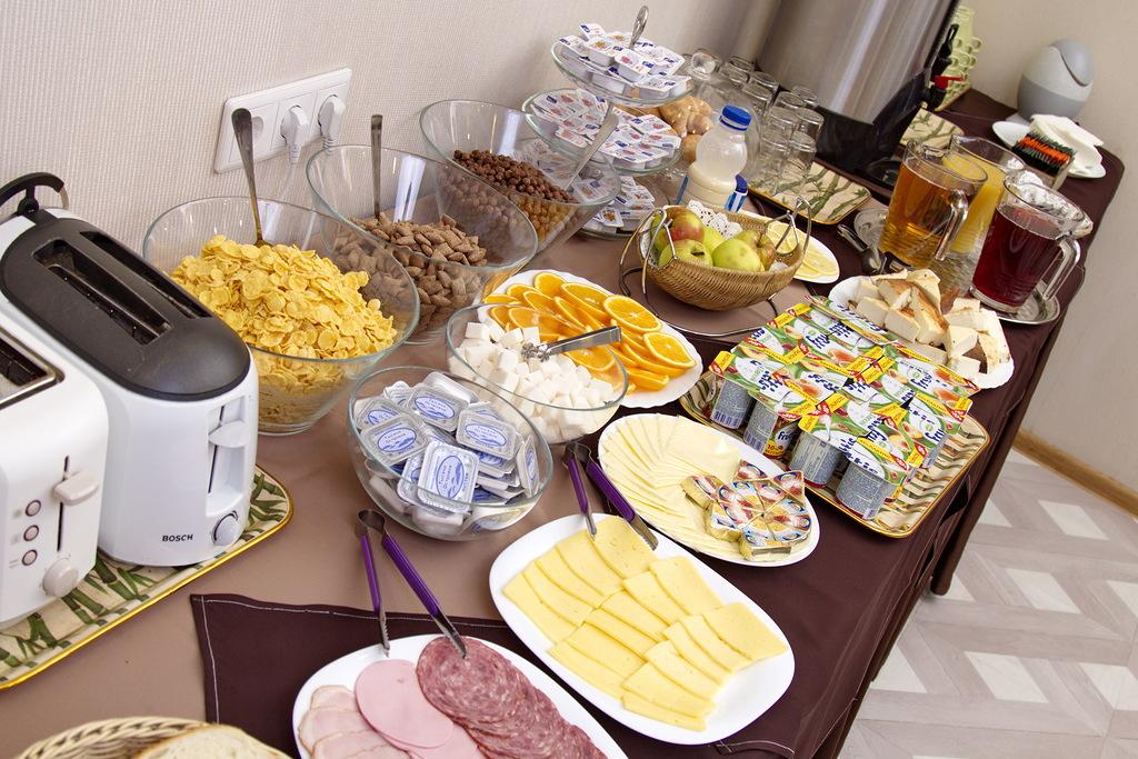 Завтрак шведский стол в санкт петербурге