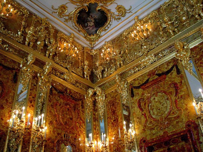 Екатерининский дворец - комнаты николая ii